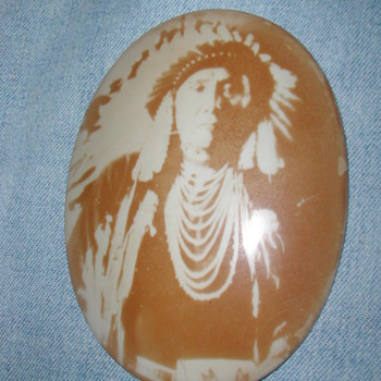 American Indian Portraits on Porcelain