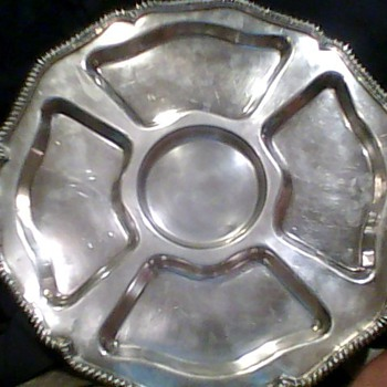 "Sterling Silver Tray / W&S Blackinton-Since 1865 / ""King's Court"" written in cursive/ 635 is stamped on the back.  Help identif - Sterling Silver"