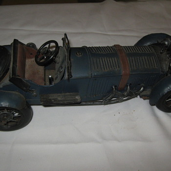 hand made steel car??? - Model Cars