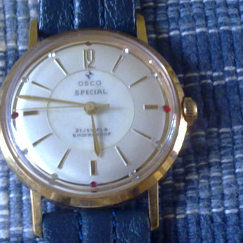 OSCO WIND UP WRISTWATCH - Wristwatches