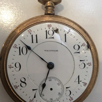 Great Great Grandfathers Waltham Pocket Watch - Pocket Watches