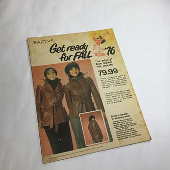 The T. Eaton Co Limited, Winnipeg Fall Flyer - Advertising