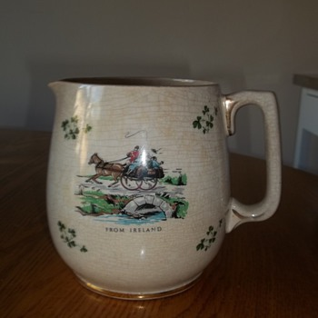 Irish Jug - China and Dinnerware