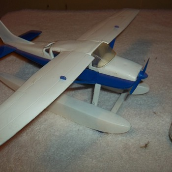 AMERICAN MADE PLASTIC AIRPLANE - Toys