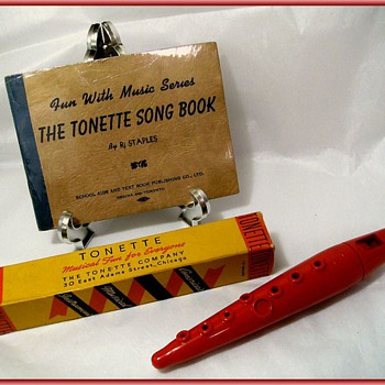 1930's - SWANSON TONETTE Musical Instrument ( w/Box & Booklet ) 1/of 3 types of Posts - Musical Instruments