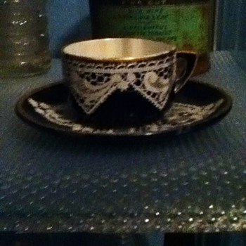 old antique tea cup