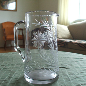 Old Water Pitcher - Glassware