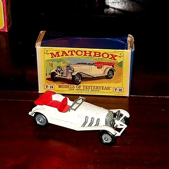 Matchbox Y-10 1928 Mercedes-Benz 36/220