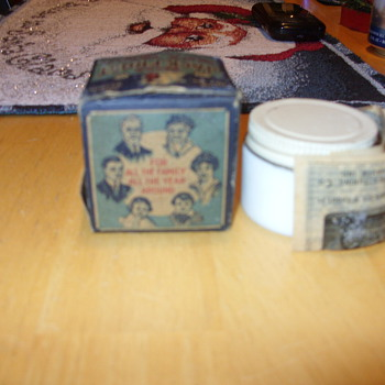 1921 jack frost creme - never opened - Advertising