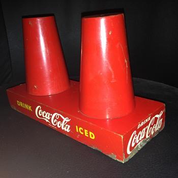 1950's Coca-Cola Cup Holder