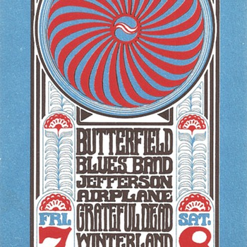 Butterfield, Airplane, Dead @ Winterland, BG-30