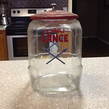Lance Jar - Glassware