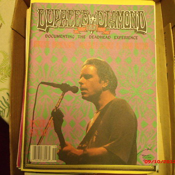 From my Grateful Dead Collection Duprees Diamond News Issue 18, May 1991 - Music