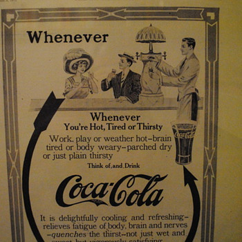 Coca-Cola Ad from 1911 - Coca-Cola