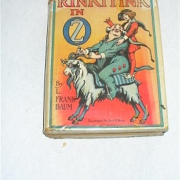 RinkiTink of OZ  by L. Frank Baum with Dust cover - Books