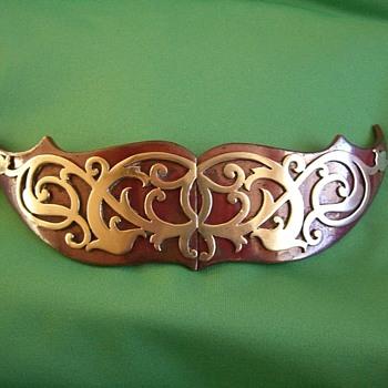 Awesome vintage belt buckle