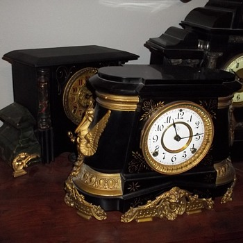 Ansonia clocks love them the most.