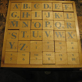 Mediterranean Alphabet - Toys