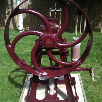 Merryweather Twin Cylinder Water Pump