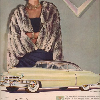 1950 Cadillac 3 Advertisement