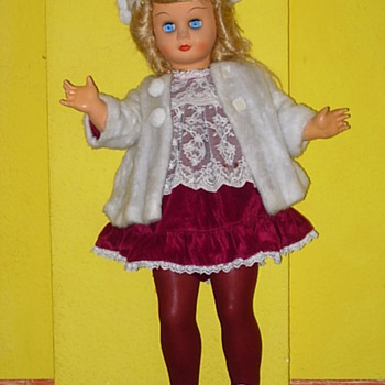 Italian hard plastic and celluloid Dolls