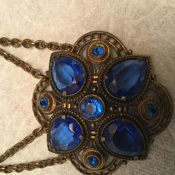 Mother's Cobalt - Costume Jewelry