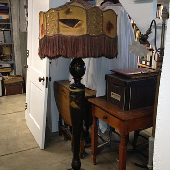 Floor Lamp Purchased in 1921 in Louisville KY - Lamps