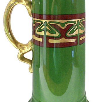 Rosenthal Art Nouveau Pitcher Tankard c1922. Do you recognize pattern or artist?