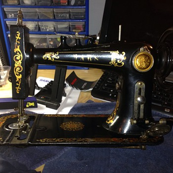 Very Old Sewing Machine - Sewing