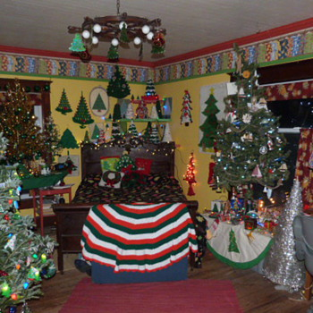 part of my extensive collection  2013 Indoor Christmas Tree Forest - Christmas
