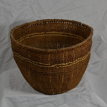 Another Unknown Native Basket
