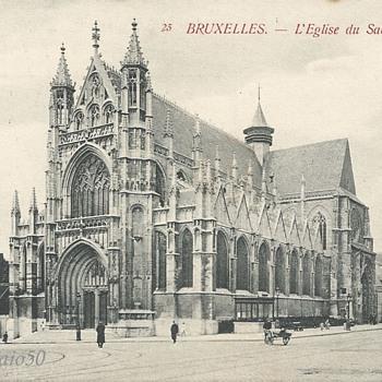 BRUXELLES - L'ÉGLISE du SABLON.