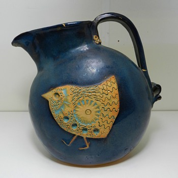 Neat Danish? Art Pottery Pitcher