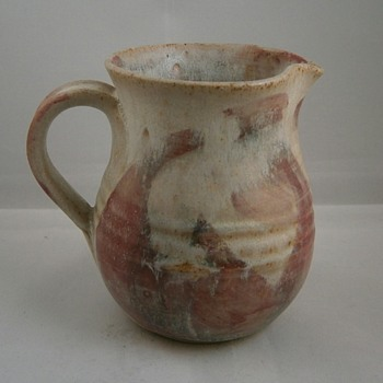 studio stoneware jug mystery Mark?