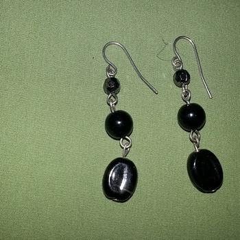 Beautiful Dangling Earrings - Costume Jewelry