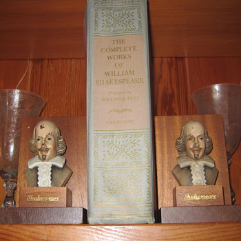 Old Book 1936 copy of Willam Shakespear