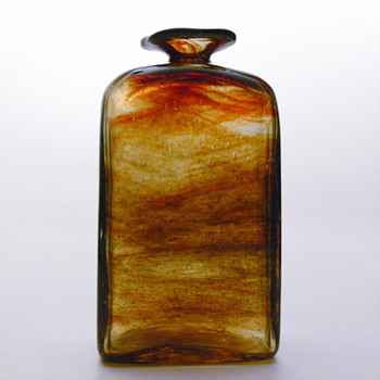 Lava vase, Per Ltken (Holmegaard, 1970)
