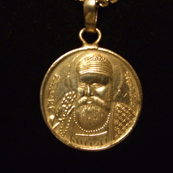 Silver Medal of GURU NANAK- Founder of Sikhism