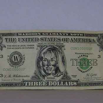 Three Dollar Bill
