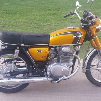 1972 Honda 350  - Motorcycles