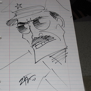 Comic art Autographs part 9