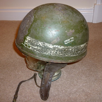 British WW11 Military Police motorcycle helmet - Military and Wartime