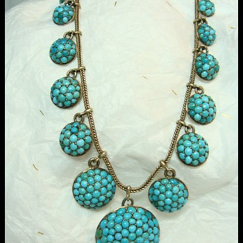 Victorian Pave Necklace - Fine Jewelry