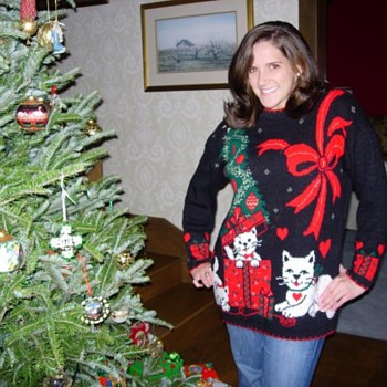 I own the 10th Ugliest Christmas Sweater.