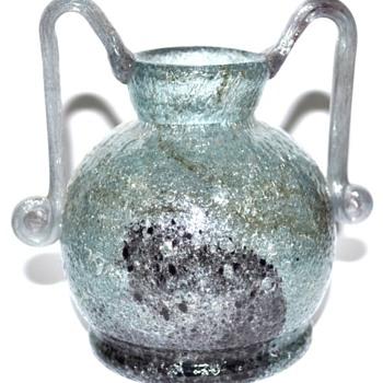 EMANUEL BERANEK PULEGOSO VASE, 1940'S - Art Glass