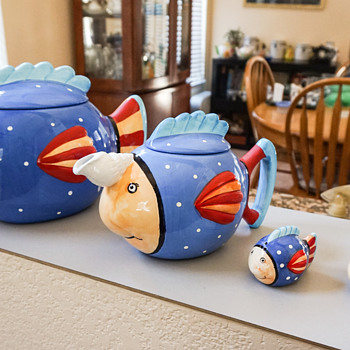 Fish Cookie Jar - Kitchen