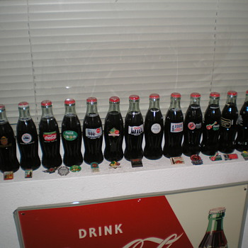 Coca-Cola Collectors Club Commemorative Convention Bottles