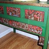 Asian Carved Wooden Table