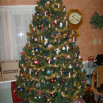 LAST YEARS CHRISTMAS TREE
