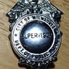 City of Milwaukee Dept. of Public Works Supervisor Badge